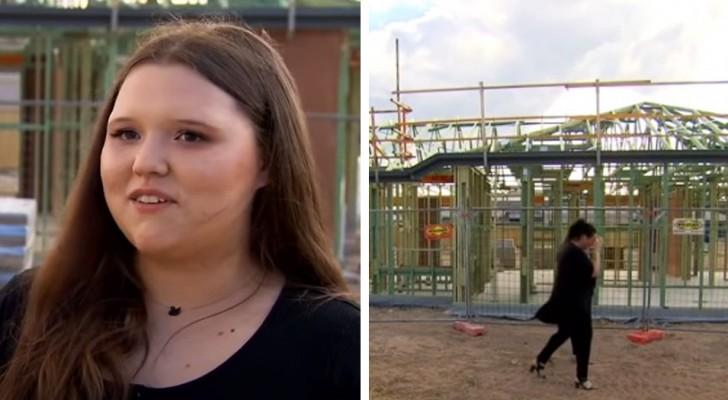 Dieser jungen Frau ist es mit 19 Jahren gelungen, ihr erstes Haus zu kaufen, nachdem sie bei McDonald's arbeitend gespart hat