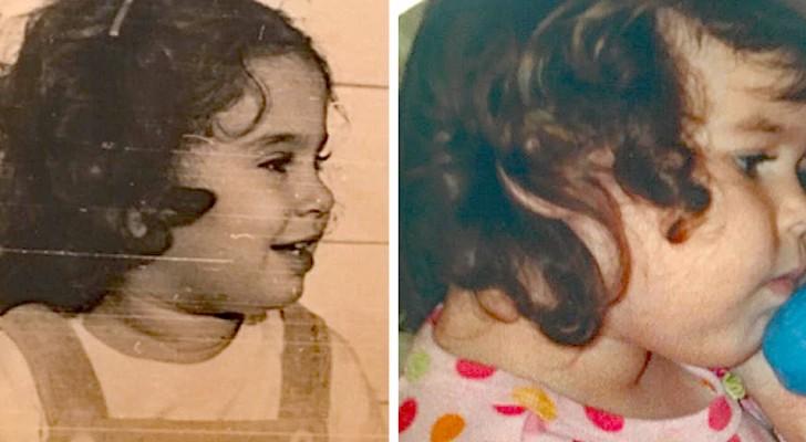 Diese Personen haben alte Fotos wiedergefunden und entdeckt, dass ihre Verwandten als junge Leute genau wie sie aussahen