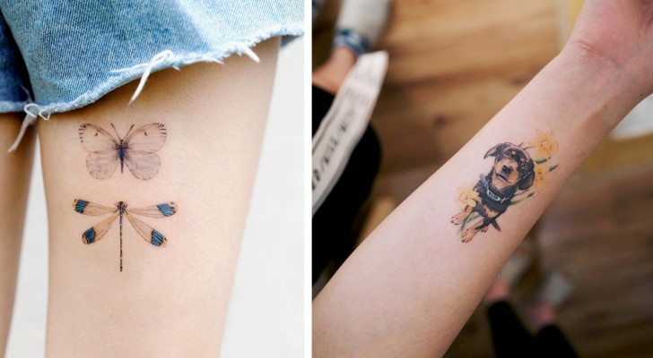 20 unobtrusive tattoos that are small masterpieces of elegance and sophistication