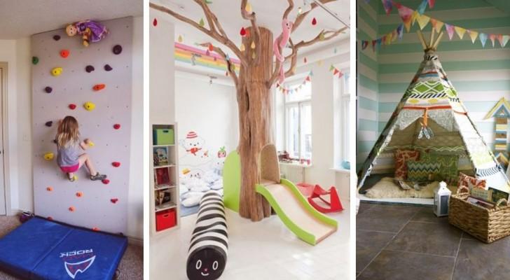 14 idee per allestire camerette da sogno che farebbero la gioia di qualsiasi bambino