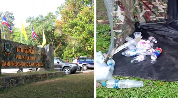 Ce parc national collecte les déchets que les touristes laissent derrière eux et les renvoie chez eux