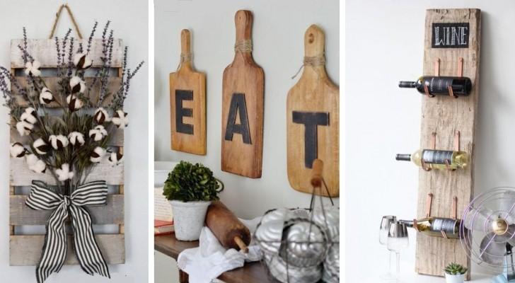15 squisite decorazioni da parete per arricchire la cucina con dettagli incantevoli