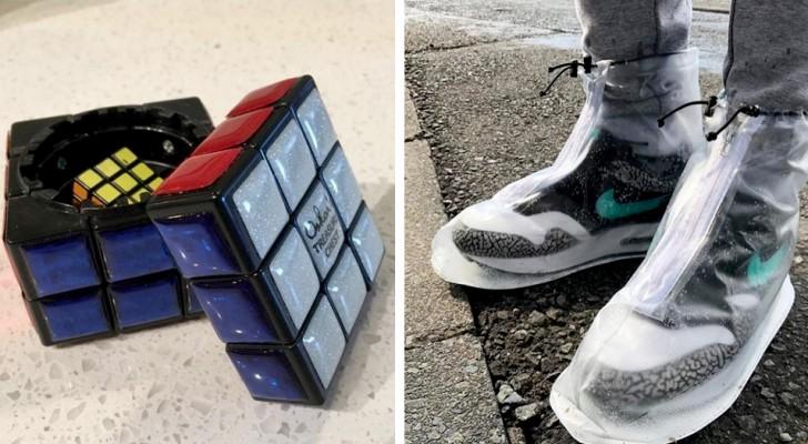 20 invenzioni che provano a ridefinire la vita di tutti i giorni con fantasia e tanta creatività