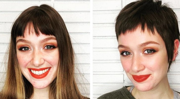 18 women who decided to cut their long hair and transform their look