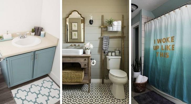13 retouches intelligentes pour moderniser en un instant votre salle de bain