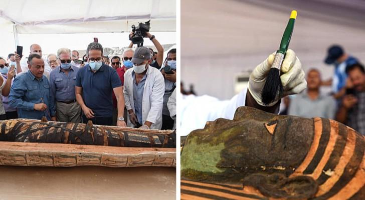Ägypten: Entdeckung einer perfekt erhaltenen 2.500 Jahre alten Mumie: es könnte die erste von vielen sein