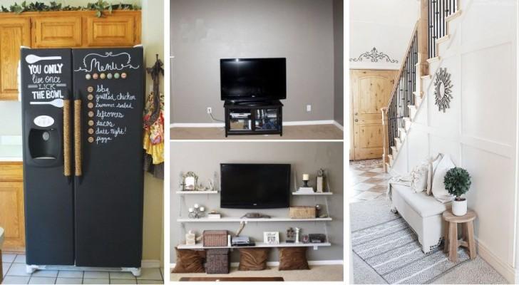 15 retouches DIY brillantes pour renouveler le mobilier de vos pièces