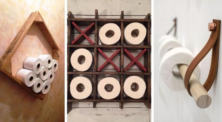 12 fantastiques projets DIY pour créer de pratiques porte papier toilette