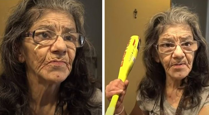 A 67-year-old woman 1.5 m (4' 11) tall takes down a thief in her home: she is a black belt in martial arts