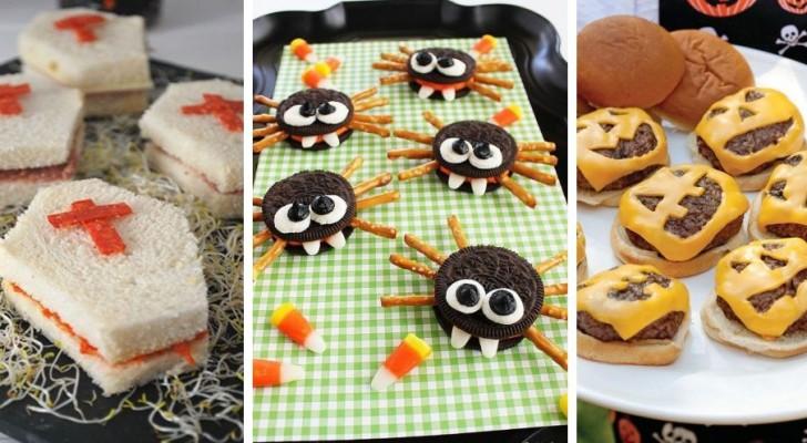 Halloween: 12 proposte sfiziose per presentare antipasti e molto altro in modo scenografico