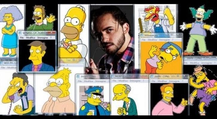 Impressionante: Imita tutte le voci dei Simpson!