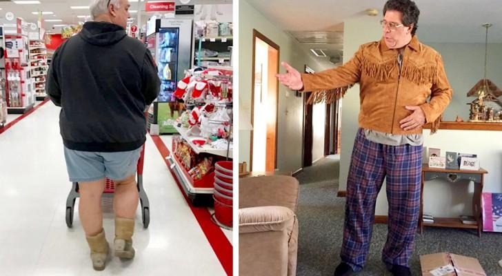 20 Male, als unsere Väter uns mit ihren Outfits an der Grenze zum schlechten Geschmack beschämt haben