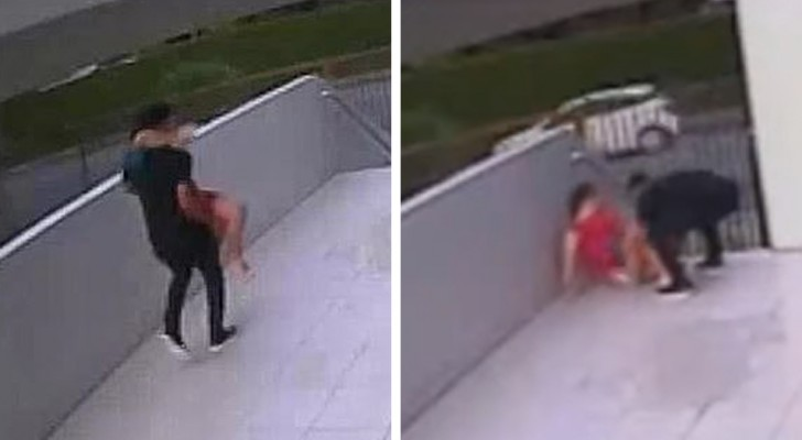 Um jovem jogador de futebol ajuda sua esposa a dar à luz na frente de casa: eles não tiveram tempo de ir ao hospital
