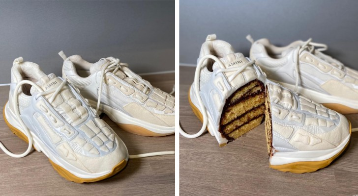 15 torte che sembrano soltanto oggetti fino a quando non vengono affettati con il coltello