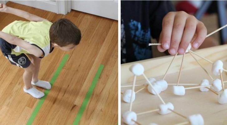 11 attività creative e stimolanti per bambini da realizzare in casa senza spendere nulla