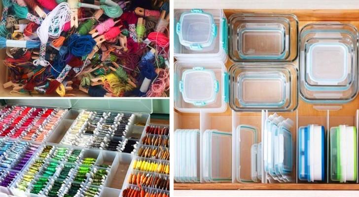 Wie man die Gegenstände im Haus auf clevere Weise anordnet: 20 Fotos, mit denen man sein Leben aufräumen kann