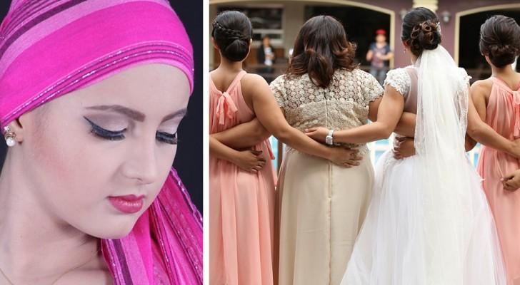 A noiva pede que a amiga com câncer não seja mais sua dama de honra: ela não quer uma pessoa calva nas fotos