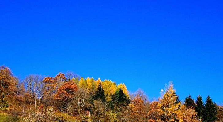 Perché in autunno il cielo ci appare più blu?