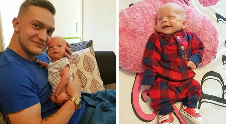 Si addormenta sul divano insieme al suo figlioletto neonato: quando si sveglia il piccolo non respira più
