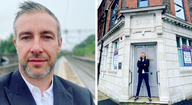 A man buys the bank which 18 years earlier had refused him a loan to start his business