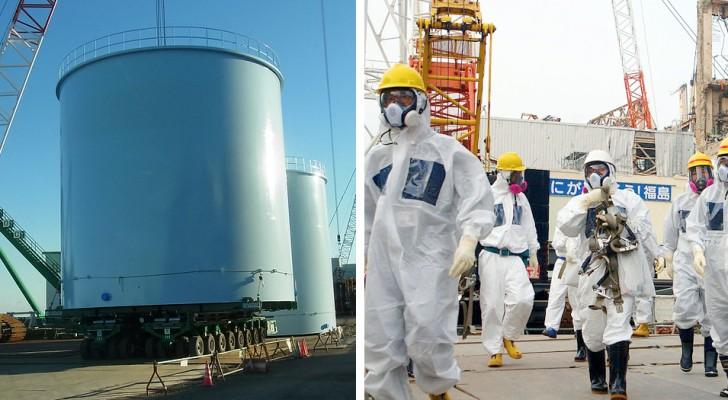 Japan will Millionen Tonnen entgiftetes Wasser aus dem Kraftwerk Fukushima in den Ozean schütten