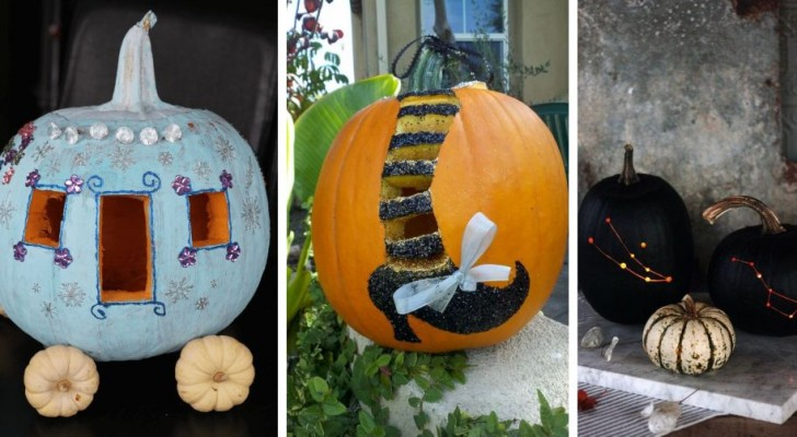 Citrouilles ensorcelées de Halloween : 13 astuces pour les sculpter de façon créative, à copier