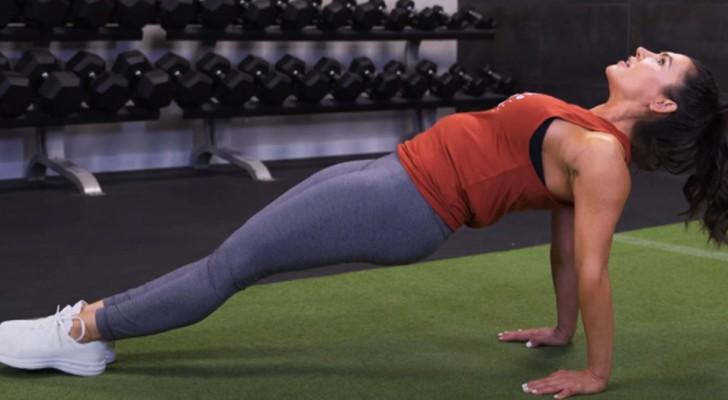 10 semplici esercizi per allenare l'addome in pochi minuti anche stando a casa