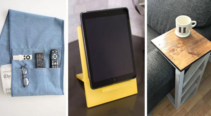 10 utilissimi accessori per la casa da creare con le vostre mani riciclando in modo intelligente