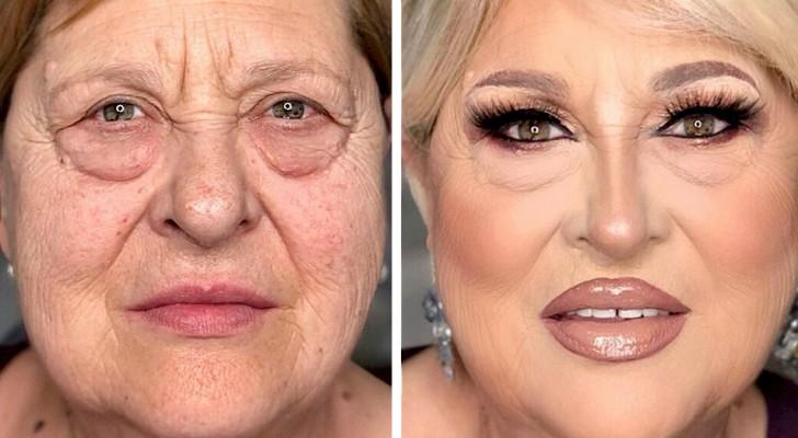 15 Frauen, die sich mit der Magie des Make-ups in ganz andere Menschen verwandelt haben