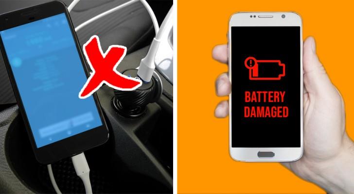 Als je je smartphone in de auto oplaadt door deze op de sigarettenaansteker aan te sluiten, weet dan dat dit geen goed idee is