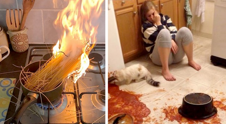 20 people who went in the kitchen and created disasters so sensational that they had to be immortalised