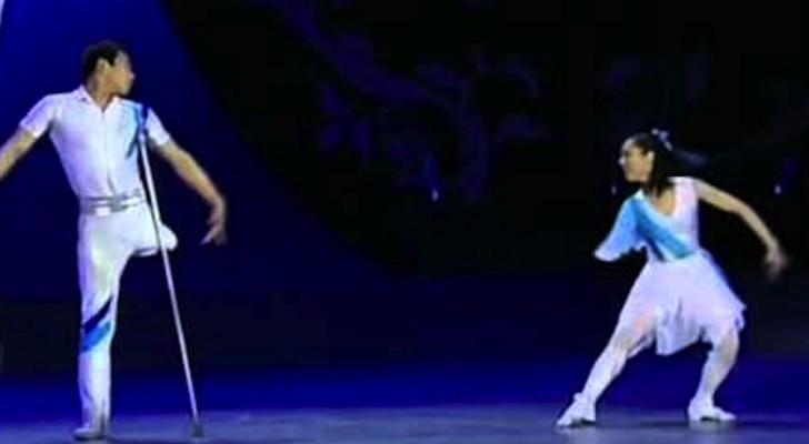 Questi due ballerini speciali vi sorprenderanno con la loro spettacolare esibizione