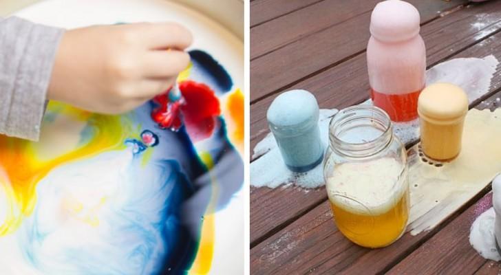 7 esperimenti divertenti ed educativi da realizzare insieme ai bimbi
