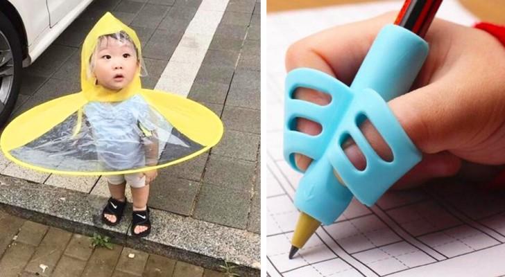 17 oggetti che tutti i genitori dovrebbero avere per crescere i figli con un tocco di genialità