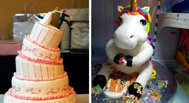 16 tortas divertidas que no pensábamos que alguien tendría el coraje de realizarlas
