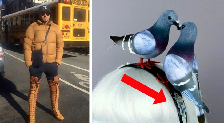 16 people who thought they were in fashion but whose clothes were in bad taste