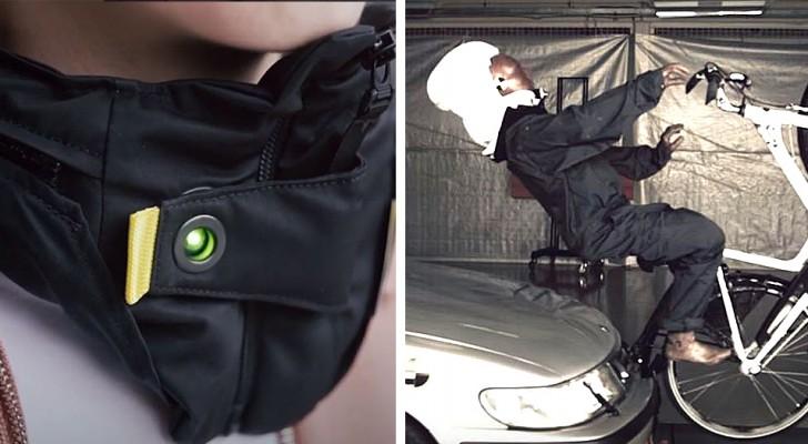 Il casco con airbag per ciclisti: una protezione efficace e discreta che può salvare la vita