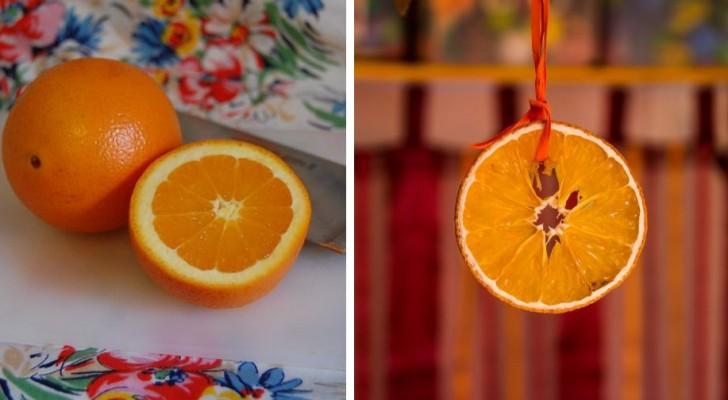 Come far essiccare le fette di arancia al forno o al microonde