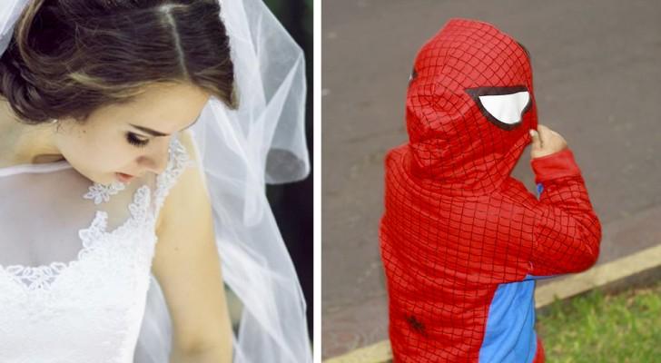 Een wrede bruid wil niet dat haar autistische neefje zich op haar bruiloft verkleedt als Spider-Man
