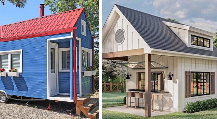 Immer mehr Menschen entscheiden sich für das Wohnen in Mini-Häusern: kleine, billige und superpraktische Häuser