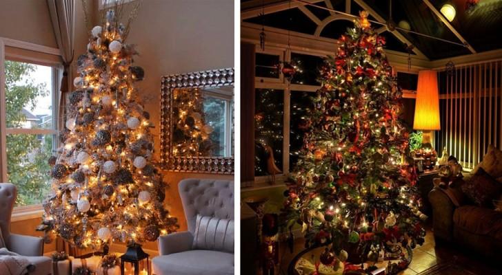 Sprookjesachtige kerstbomen: 20 suggesties, de een nog mooier dan de ander, om ze met smaak en fantasie te versieren