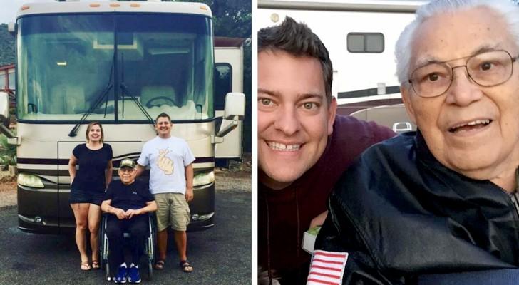 Ett barnbarn tar med sin 95-åriga morfar på en resa med husbil istället för att stänga in honom på ålderdomshem