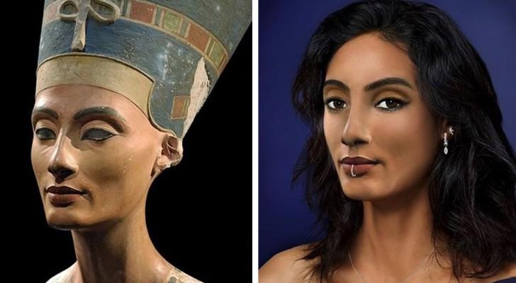 Un'artista immagina che aspetto avrebbero avuto oggi i personaggi della Storia: i suoi lavori destano stupore