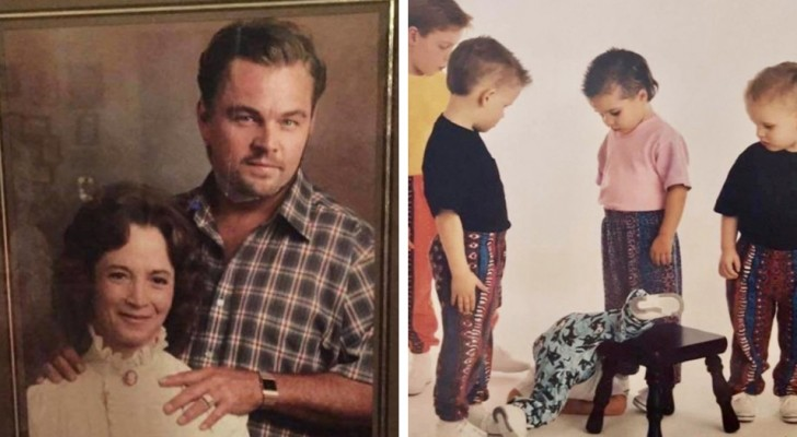 19 funny family photos that are so bizarre they will make you smile