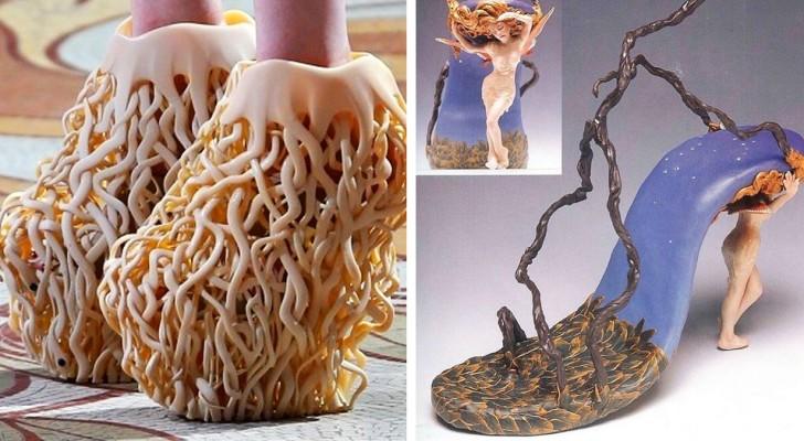 18 dure paar schoenen waarvan we niet hadden gedacht dat iemand ze ooit zou durven maken