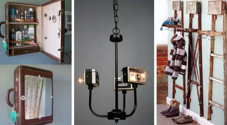 11 astuti progetti di riciclo per dar vita a creazioni dal design davvero originale