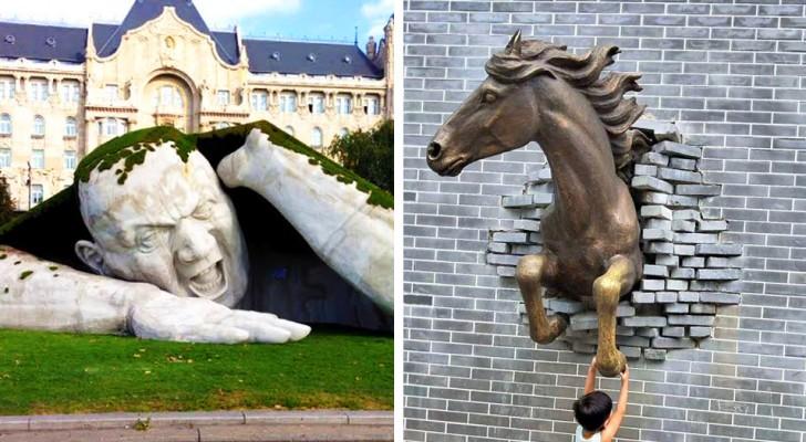15 sculture moderne che testimoniano come la creatività e la maestria producano ancora opere d'arte degne di nota