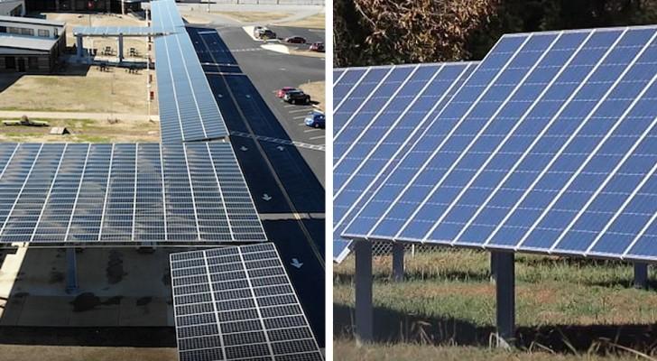 Una scuola installa 1400 pannelli solari: con i soldi risparmiati aumenta gli stipendi degli insegnanti