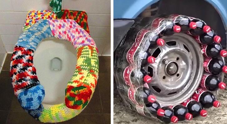 19 personer som har löst sitt problem med DIY som gränsar till det absurda