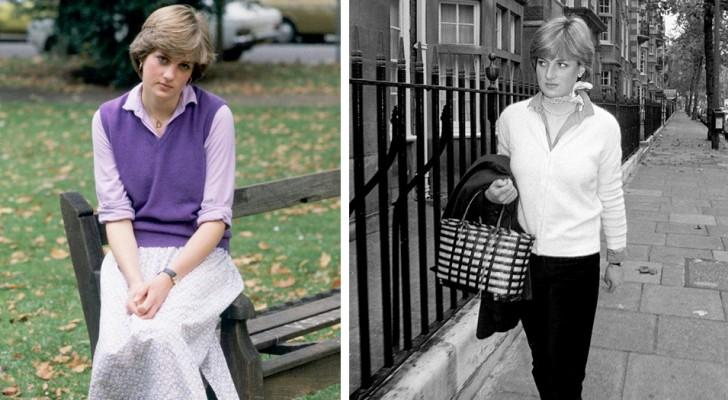 10 fotografias antigas que testemunham a elegância e o encanto atemporal de Lady Diana